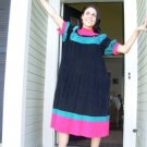 Vintage Colorful Corduroy Dress