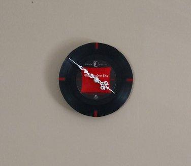 Red Bars Record Clock