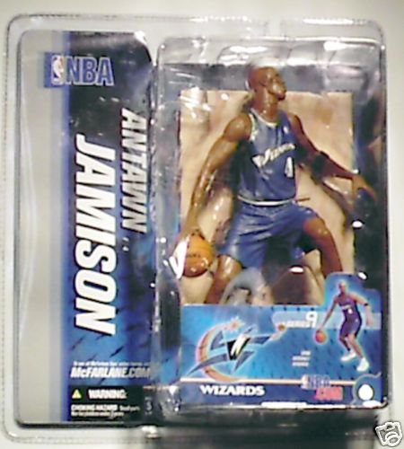 "Washington Wizards Antawn Jamison 6"" Figure MIB"