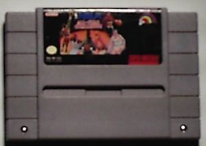 Super Nintendo SNES NBA Allstar video game cartridge