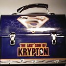 Superman Last Son of Krypton Tin Lunchbox