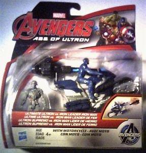 Marvel Comics Avengers Ultimate Ultron vs Iron Leader Ironman Figures MOC