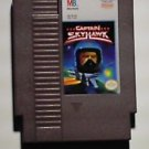 NES Nintendo 8 bit Captain Skyhawk Video Game Cartridge