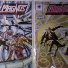 Valiant Comics Magnus Robot Fighter Comics lot of 2 issue #'s 33 & 37 F/VF