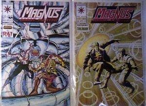 Valiant Comics Magnus Robot Fighter Comics lot of 2 issue #'s 33 & 37 F/VF