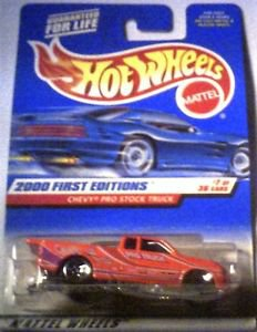 Hot Wheels 2000 First Editions Die Cast 1:64 scale Prostock Truck MOC