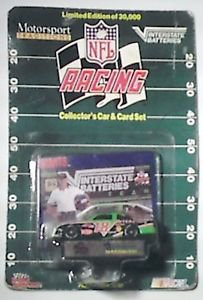 Racing Champions NFL Racing #18 1:64 scale die cast car in original package 1992