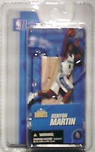 NBA Denver Nuggets 3 inch Kenyon Martin figure MIB 2005