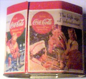 Coke Coca Cola Octagon shape tin featuring 1950's teenagers at a diner