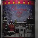Snickers Timeless Towns Christmas 1991 Tin w/ Lid