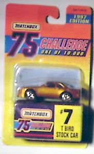 Matchbox 1997 Edition 75 Challenge Limited Edition Die Cast Car 1:64 scale