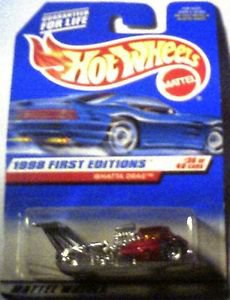 Hot Wheels 1998 First Editions Whattadrag 1:64 Scale Die Cast MOC