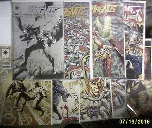 Valiant Comics Magnus Robot Fighter Lot of 9 F/VF Issue #'s 25,29,31-35,37, & 42