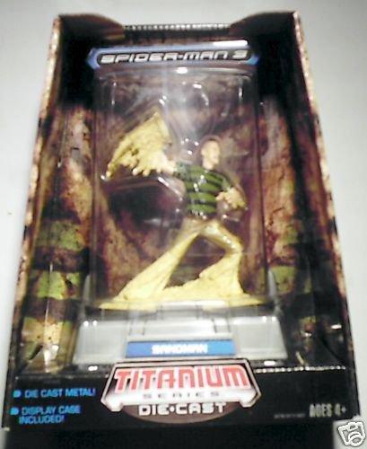 Spiderman 3 Titanium Series Sandman Figure MIB