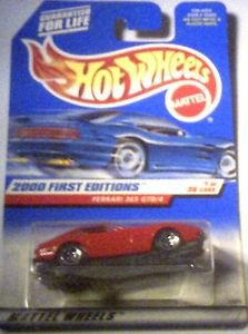 Hot Wheels 2000 First Editions Die Cast 1:64 scale  Ferrari 333 SP MOC