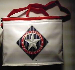 Coke Coca Cola Texas Rangers Insulated drink cooler bag