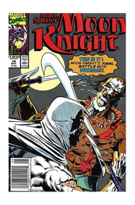 Marvel Comics Marc Spector: Moon Knight #14 (May 1990, Marvel) VF/NM