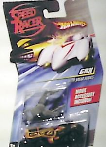 Hot Wheels Speed Racer Pullbax Die Cast 1:64 scale GRX Racer X MOC