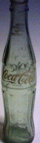 Coke Coca Cola 10 ounce Glass Bottle Pierre South Dakota Empty