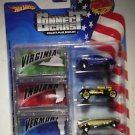 Hot Wheels Connect Cars set of 3 Old #3 Cadillac Cien Concept Whip Creamer 2 MOC