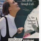 Maybelline Great Lash Mascara Print Ad March 1993 Glamour Magazine