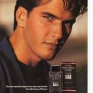 Stetson Preferred Stock Cologne Full Page Print Ad Glamour March 1993