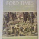 Ford Times January 1953 Original copy Free Shipping