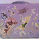 Disney Princess Tinkerbell Silvermist Fawn Fairies Metal Lunchbox