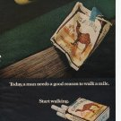 Camel Cigarettes Full Page Print Ad June 1972 Popular Science Magazine