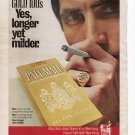 Pall Mall Cigarettes Full Page Print Ad June 1972 Popular Science Magazine