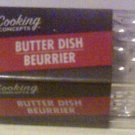 Plastic Butter Dish with Lid New Free US Shipping