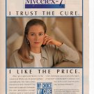 Mycelex 7 Vaginal Cream Print Ad March 1993 Glamour Magazine