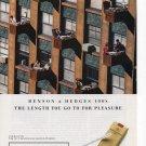 Benson & Hedges cigarettes Full Page Printed Ad Vanity Fair June 1994