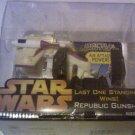 Star Wars Attactix Battlemasters Game Republic Gunship Toy Vehicle in box