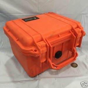 Pelican Case Model 1300 Orange Colour. Made in USA