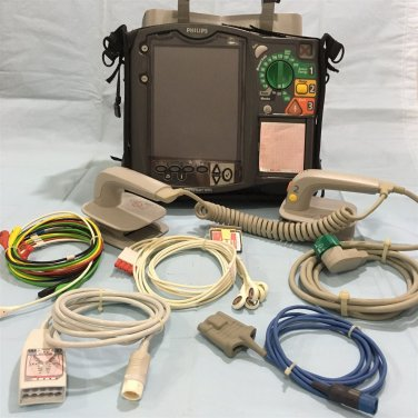 Philips HeartStart MRx. P/N: M3536A Fully Loaded. Free Shipping.