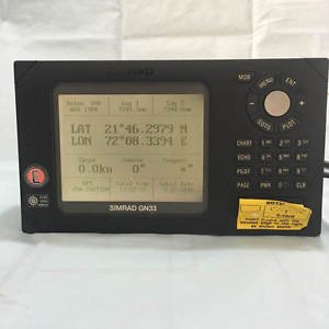 Simrad GN33 GPS Navigator with Antenna. Made in Denmark. Free Shipping.