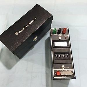 Time Electronics 1077 Miliamp Transducer Simulator. Free Shipping