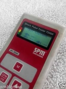 SPM Shock Pulse Tester T2000 with TRA 22 Shock Pulse Transducer