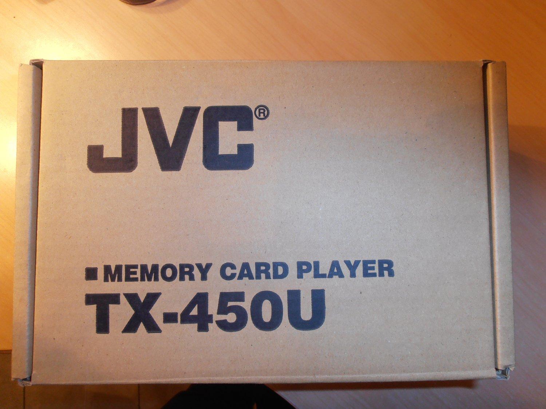 eC JVC TX-450U Memory Card Player