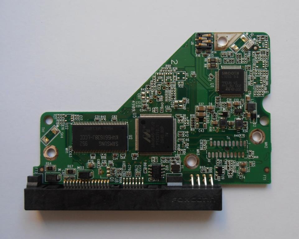 """Western Digital WD10EADS-11M2B2 Board 701640-007 REV A 1Tb 3.5"""" 0799 SATA"""