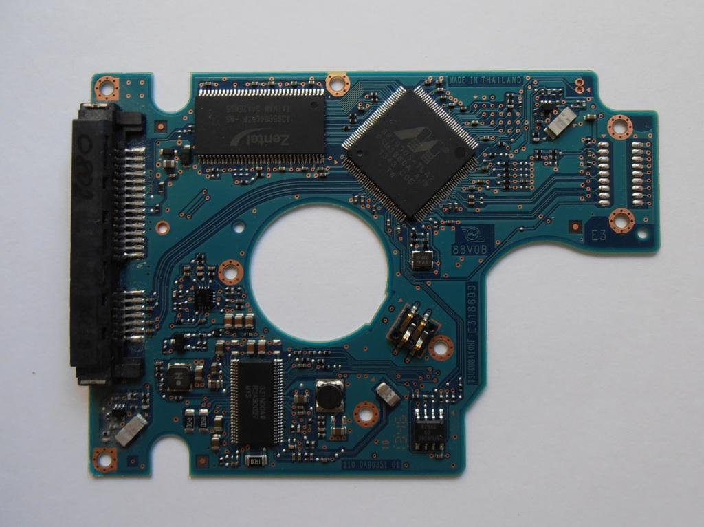 "Board PCB 0J14465, 0A90351 HDD Hitachi HGST HTS721010A9E630 1Tb 2.5"" SATA 0802"