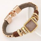Magnetic Clasp Charms Wrap Bracelet