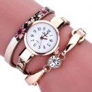 Duoya Khaki Bracelet Watch Women Wrap Around Quartz Wrist Watch - USA Shipping