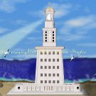 Lighthouse of Alexandria Print