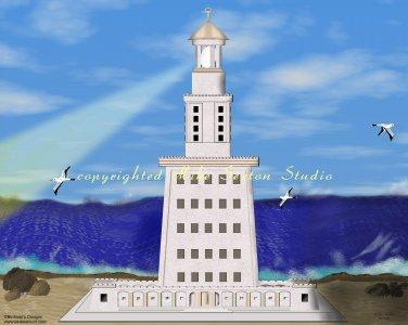 Lighthouse of Alexandria Print