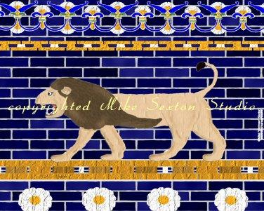 Ishtar Gate's Lion Wall