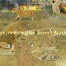 Eyes Wide Shut (Lion Print)