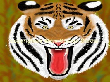 Wild Anger (Tiger Print)