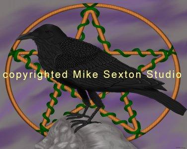 Forver More (Raven Print)